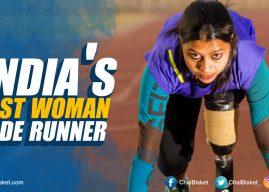 India's first woman blade runner: Kiran Kanoji